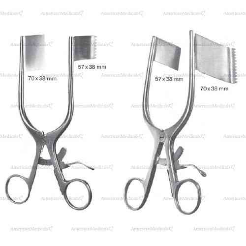"darling retractor - 18 cm (7 1/8"")"