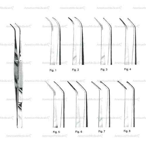"london college dental tweezers - 15 cm (6"")"