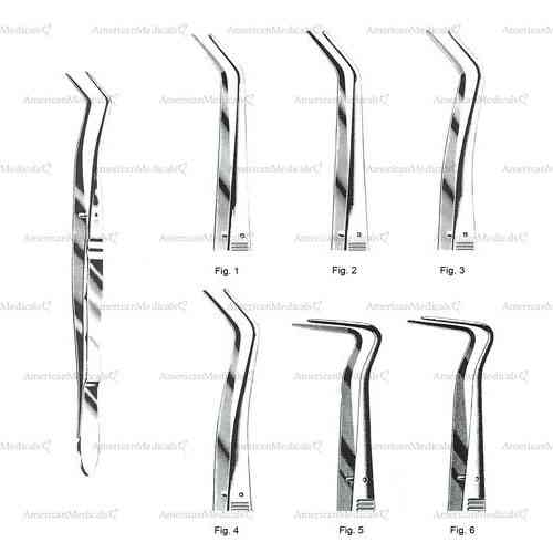 "meriam dental tweezers without grip - 16 cm (6 1/4"")"