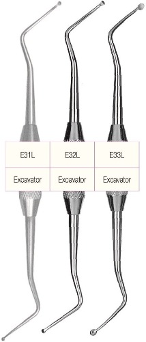 g hartzell and son e31l e32l e33l endodontic excavators