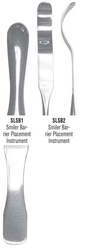 g. hartzell & son smiler barrier placement instruments