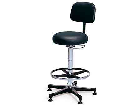 hausmann model 2160 pneumatic lab stool