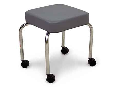 "hausmann model 2300 p.t. ""scooter"" stool"