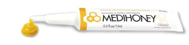 tube of medihoney paste by derma sciences