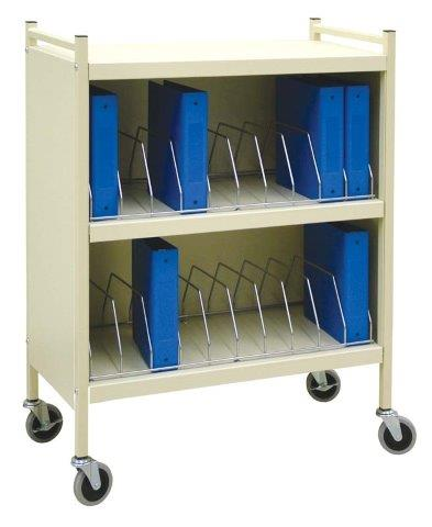 omnimed cabinet style vertical chart racks