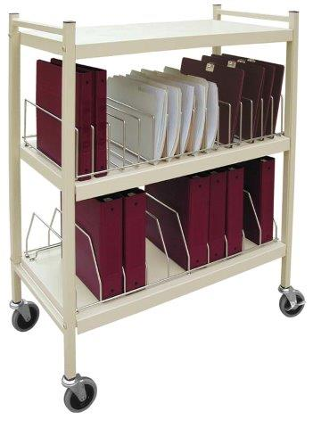 omnimed omnicart vertical chart racks