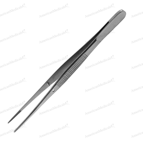 steristat sterile disposable tissue forceps without teeth stainless steel