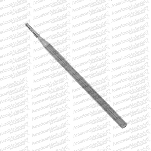 steristat sterile surgical grade stainless steel podiatry bur fissure tapper cutter