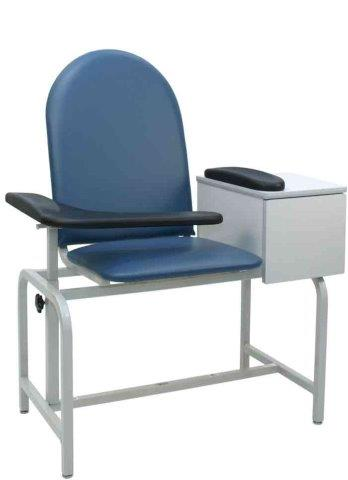 winco model 2572, 2573 padded blood drawing chair