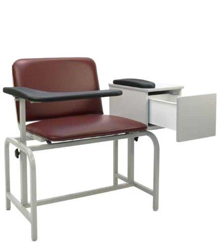 winco model 2574, 2575 xl padded blood drawing chair