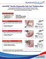 safe-toe podiatry burs 